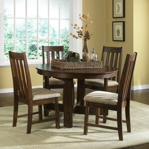 Riverbend 5 Piece Dining Set by Loon Peak