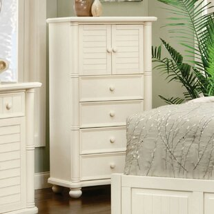 Highland Dunes Hinkley 4 Drawer Combo dresser