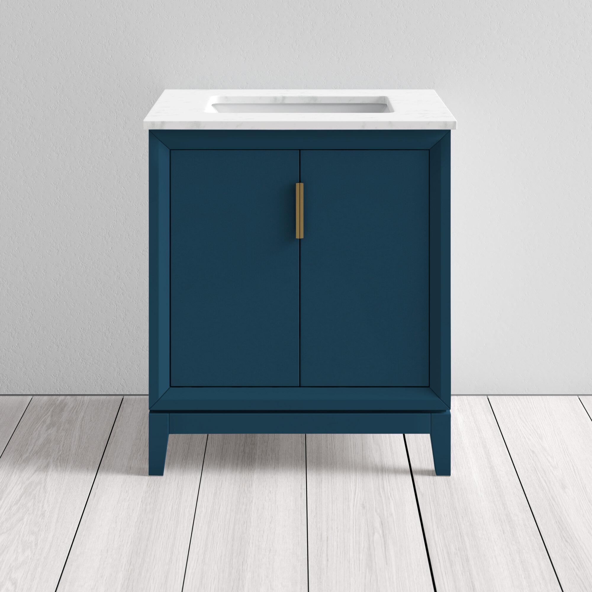 Evita 30 Single Bathroom Vanity Set Reviews Allmodern