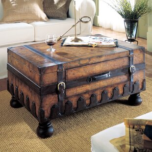 Wiersma Coffee Table with Trunk Loon Peak