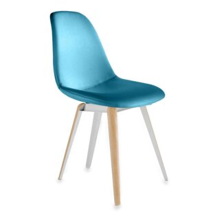 Modern Chairs USA Slice Genuine Leather Upholstered Dining Chair