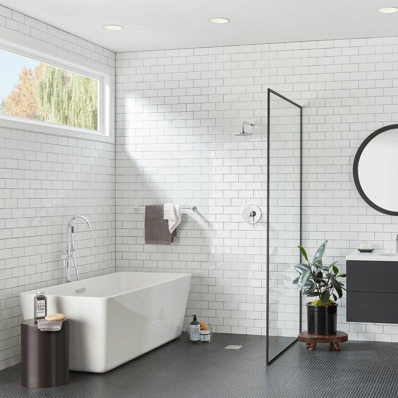 American Standard Studio Water Saving Diverter Shower Faucet With