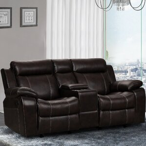 Gabrielle and Gliding Reclining Sofa by Living In Style