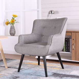 Wrought Studio Pontius Accent Wingback Chair