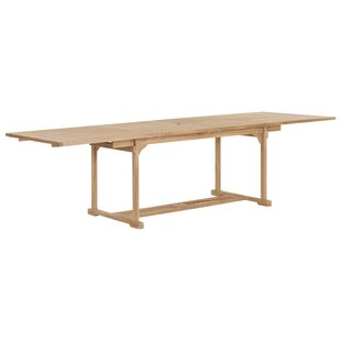 Carrington Extendable Teak Dining Table By Sol 72 Outdoor