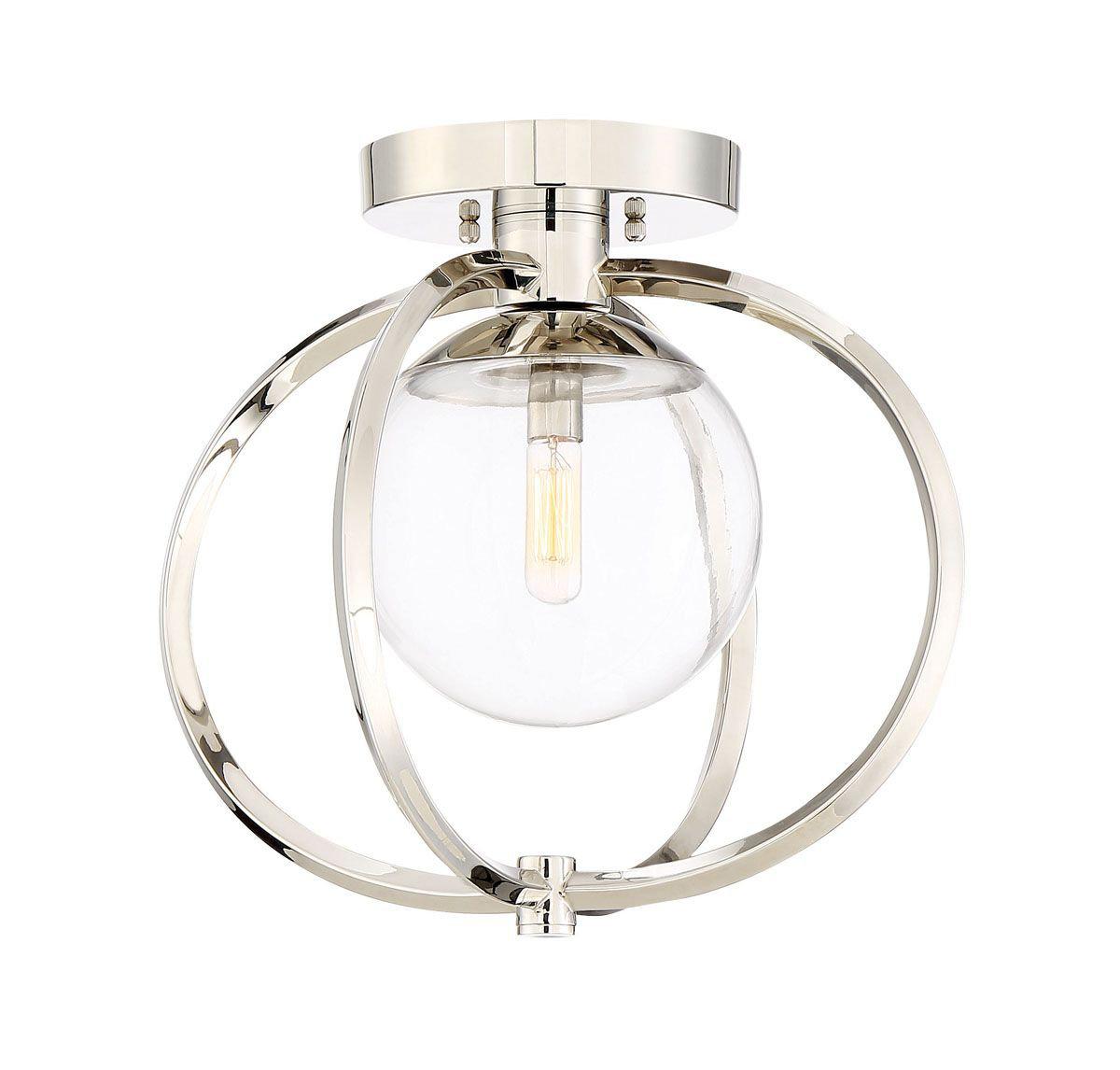 Kroll 1 Light 14 5 Unique Globe Semi