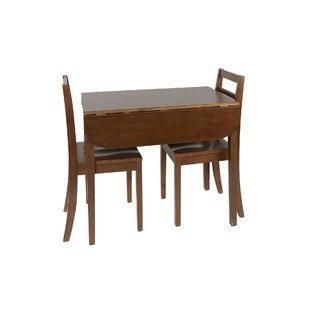Wasdale 3 Piece Drop Leaf Dining Set Winston Porter