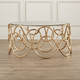 Periwinkle Coffee Table by House of Hampton Cool
