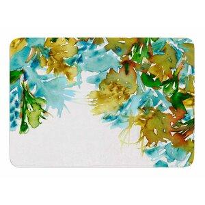Floral Cascade 9 by Ebi Emporium Bath Mat