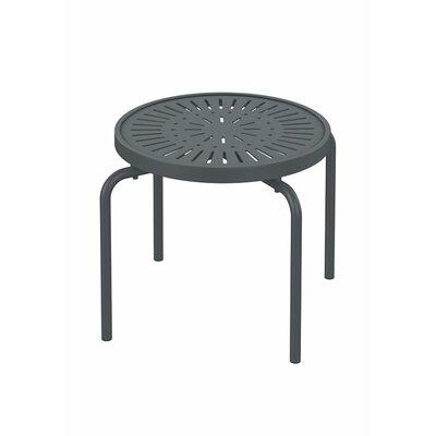 La'Stratta Metal Side Table by Tropitone Modern