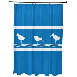 Hancock Birdwalk Animal Print Single Shower Curtain