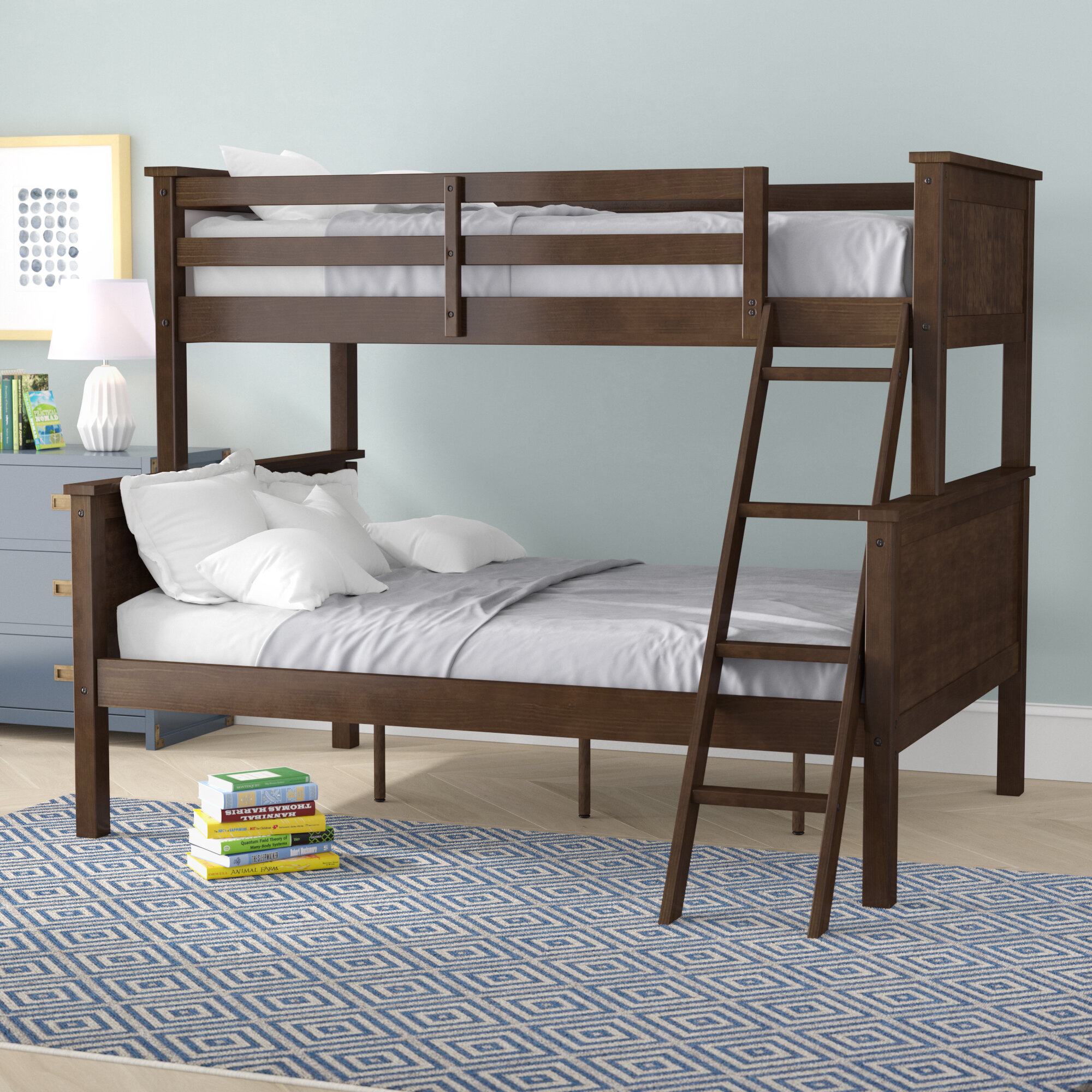 Winston Porter Adeliah Twin Over Full Standard Bunk Bed By Winston Porter Reviews Wayfair