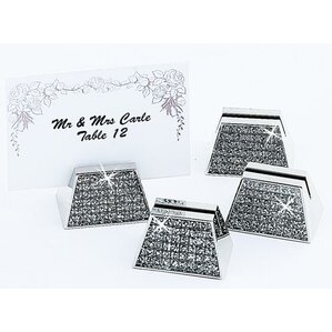glitter galore place card holder set of 4