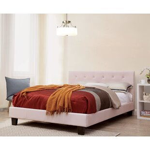 Farish Upholstered Platform Bed by Winston Porter Great Reviews