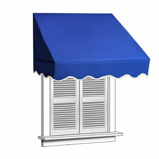 ALEKO 8 ft. W x 2 ft. D Window Awning