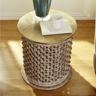 Read Reviews Stallion End Table by Cyan Design