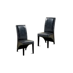 Mariyah Wendelschafer Upholstered Dining Chair (Set of 2) Orren Ellis