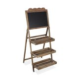 Wooden Stand Free Standing Chalkboard