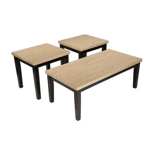 Riverview 3 Piece Coffee Table Set (Set Of 3) by Winston Porter 2019 Coupon