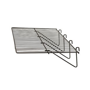 Find for 1 H x 24 W Straight Wire Shelf for Grid Panels (Set of 6) By Econoco