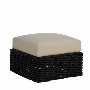 Soho Outdoor Ottoman with Cushion by Summer Classics