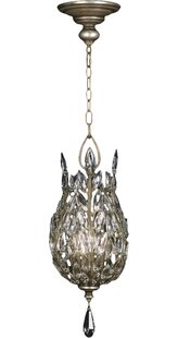 Comparison Crystal Laurel 3-Light Pendant By Fine Art Lamps