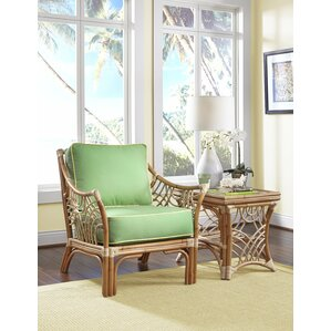 Spice Islands Wicker Bali Arm Chair Lounge