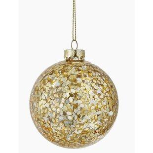 unique glass ornaments christmas