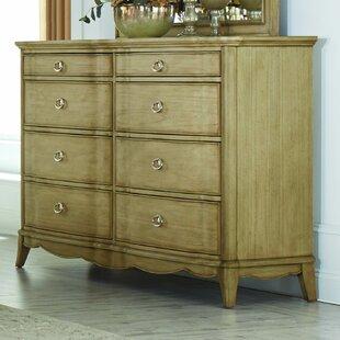 Pogson 8 Drawer Double Dresser by One Allium Way