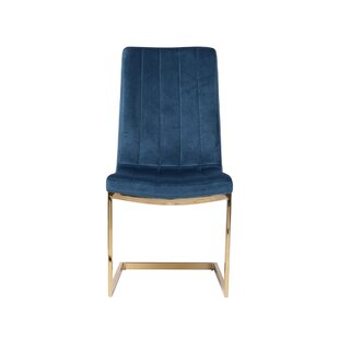 Burkhead Upholstered Solid Back Side Chair