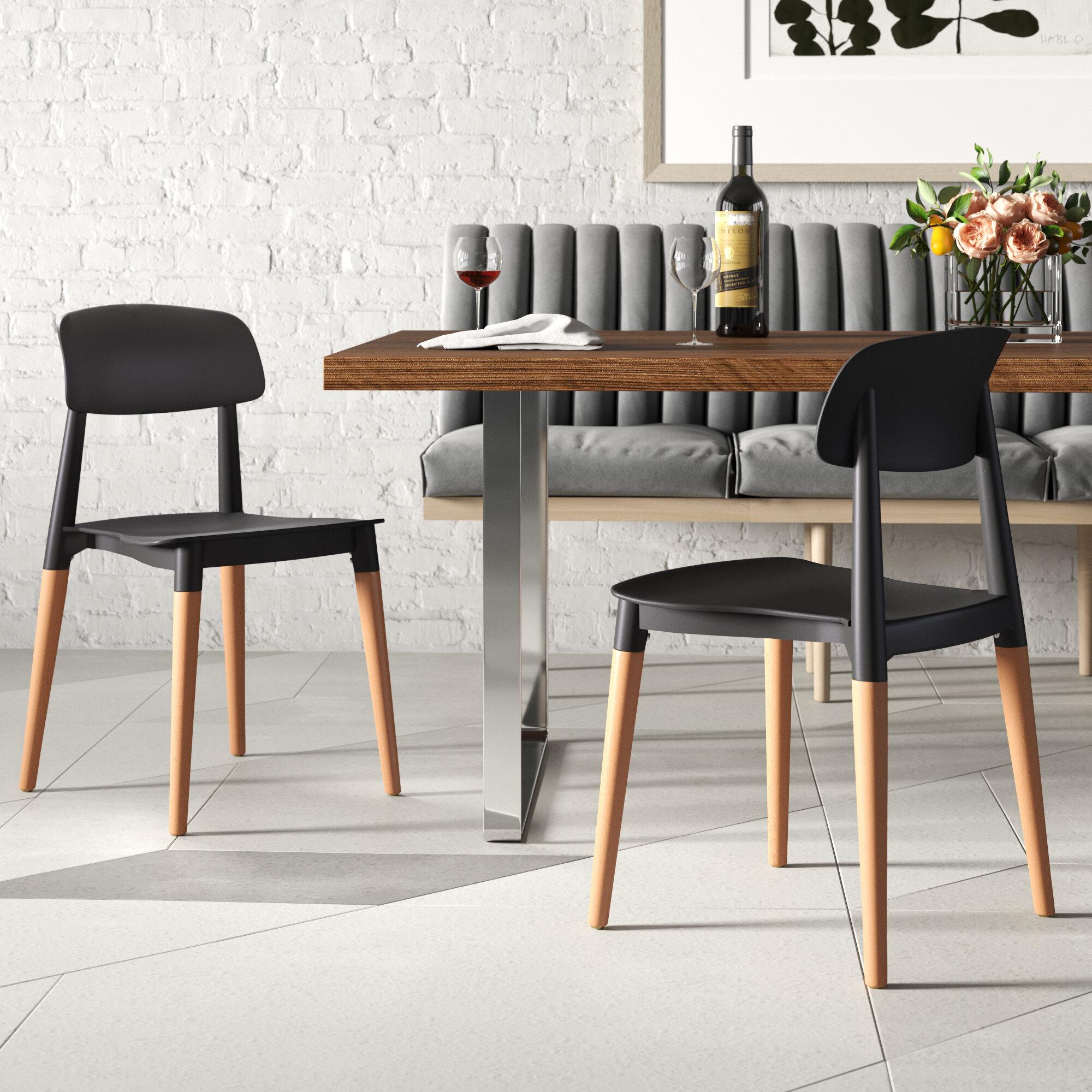 George Oliver Bakker Dining Chair Reviews Wayfair