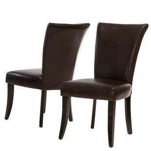Red Barrel Studio Heurich Parsons Chair (Set of 2)