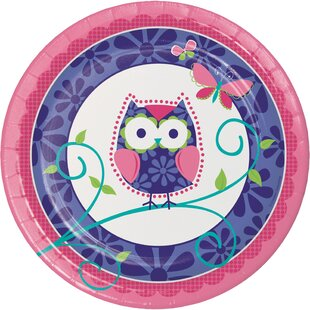 Owl Pal Birthday Paper Plates (Set of 24)