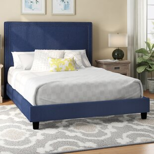 Caledonia Upholstered Platform Bed by Charlton Home