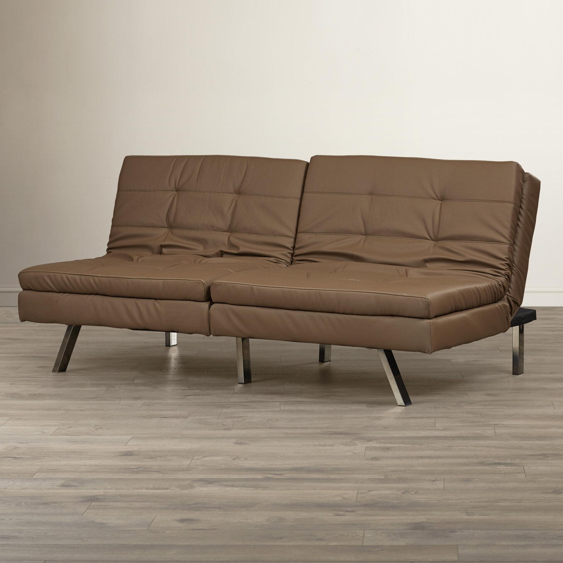Wade Logan Devonte Foldable Convertible Sofa Reviews Wayfair