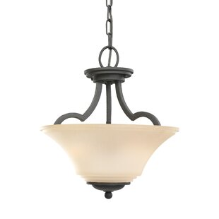 Look for Bushmills 2-Light Bowl Pendant By Darby Home Co