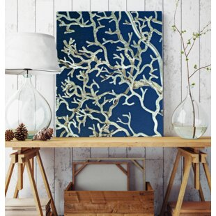 U0027Modern Twig Naturalu0027 Wall Art On Wrapped Canvas