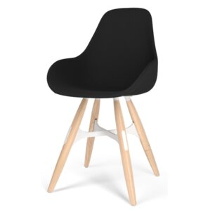 Zigzag Dimple Pop Side Chair by Kubikoff