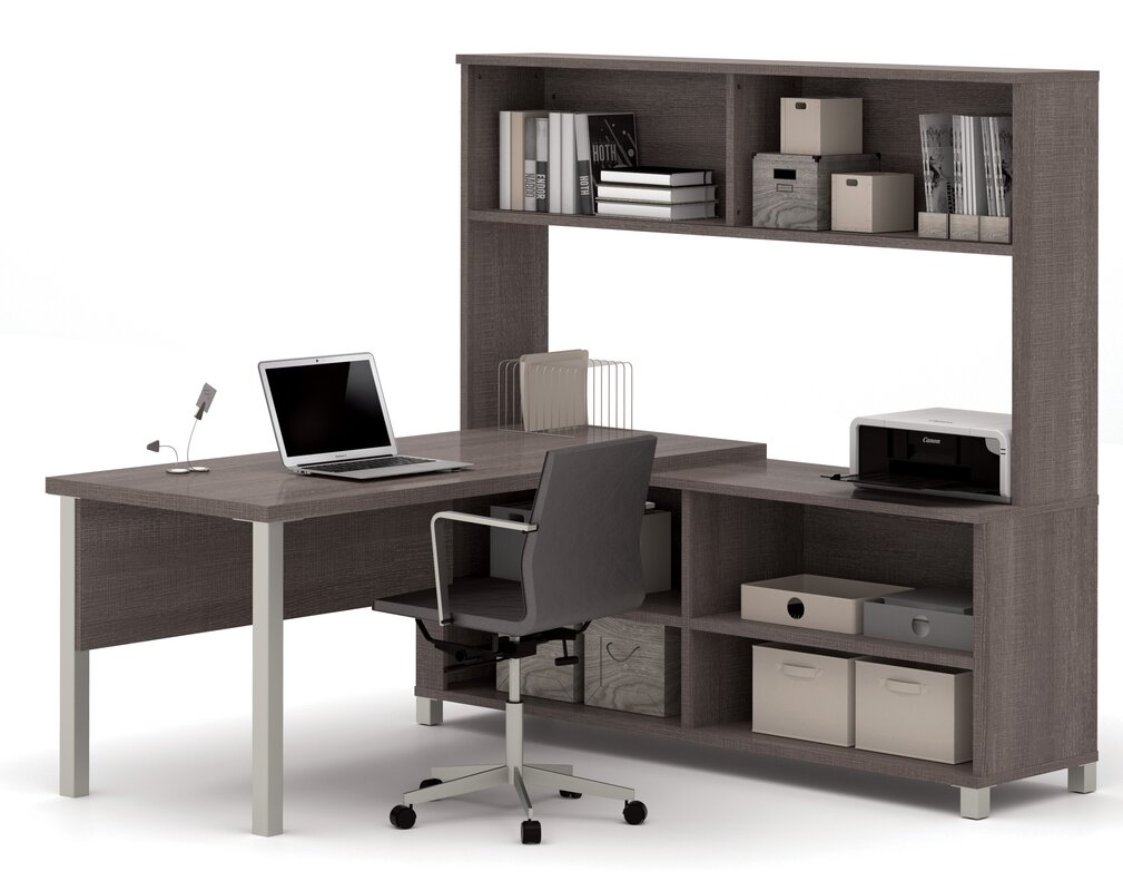 ariana 3piece lshape desk office suite