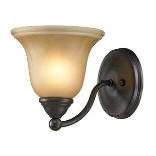 Freels 1-Light Bath Sconce by Winston Porter