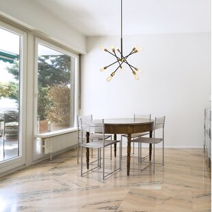 Langley Street Caden 10-Light Sputnik Chandelier