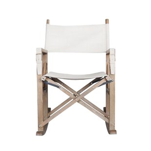 Bungalow Rose Hogue Foldable Rocking Chair