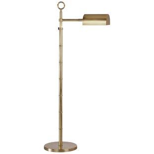 Brass pharmacy floor lamp wayfair jonathan adler meurice adjustable pharmacy task floor lamp aloadofball Gallery