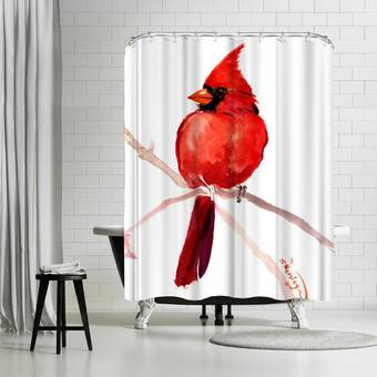 East Urban Home Suren Nersisyan Koi Fish Pond 3 1 Single Shower Curtain Wayfair