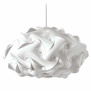 Corvi 3-Light Geometric Pendant  sc 1 st  AllModern & Modern Fabric Pendant Lighting | AllModern azcodes.com