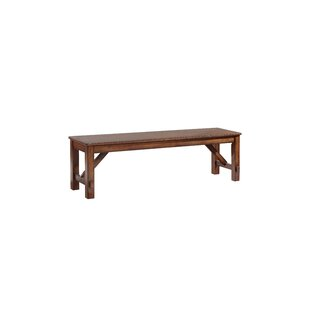 Keturah Farmhouse Solid Wood Bench by Aug..