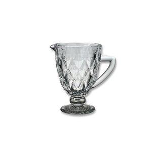 Cranbrook Diamond Glass 1L Jug (Set Of 6) By August Grove