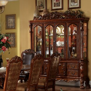 Astoria Grand Welliver Lighted China Cabinet