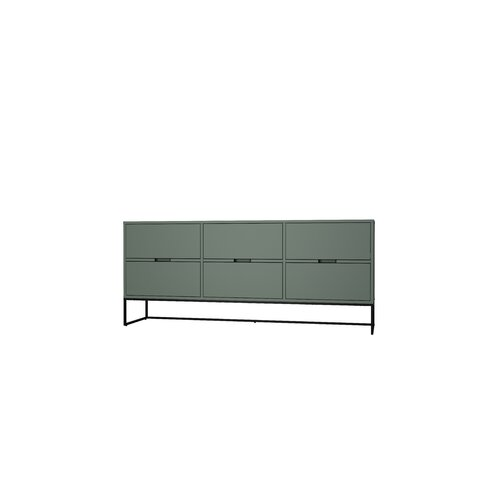 Sideboard Kipp Tenzo Farbe: Grün | Wohnzimmer > Schränke > Sideboards | Tenzo