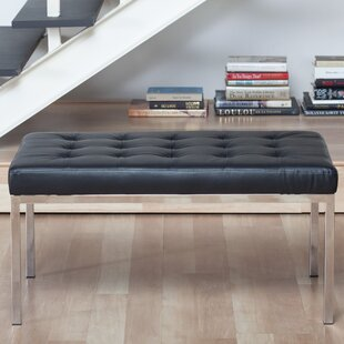 Studio Designs HOME Lintel Leather Bench